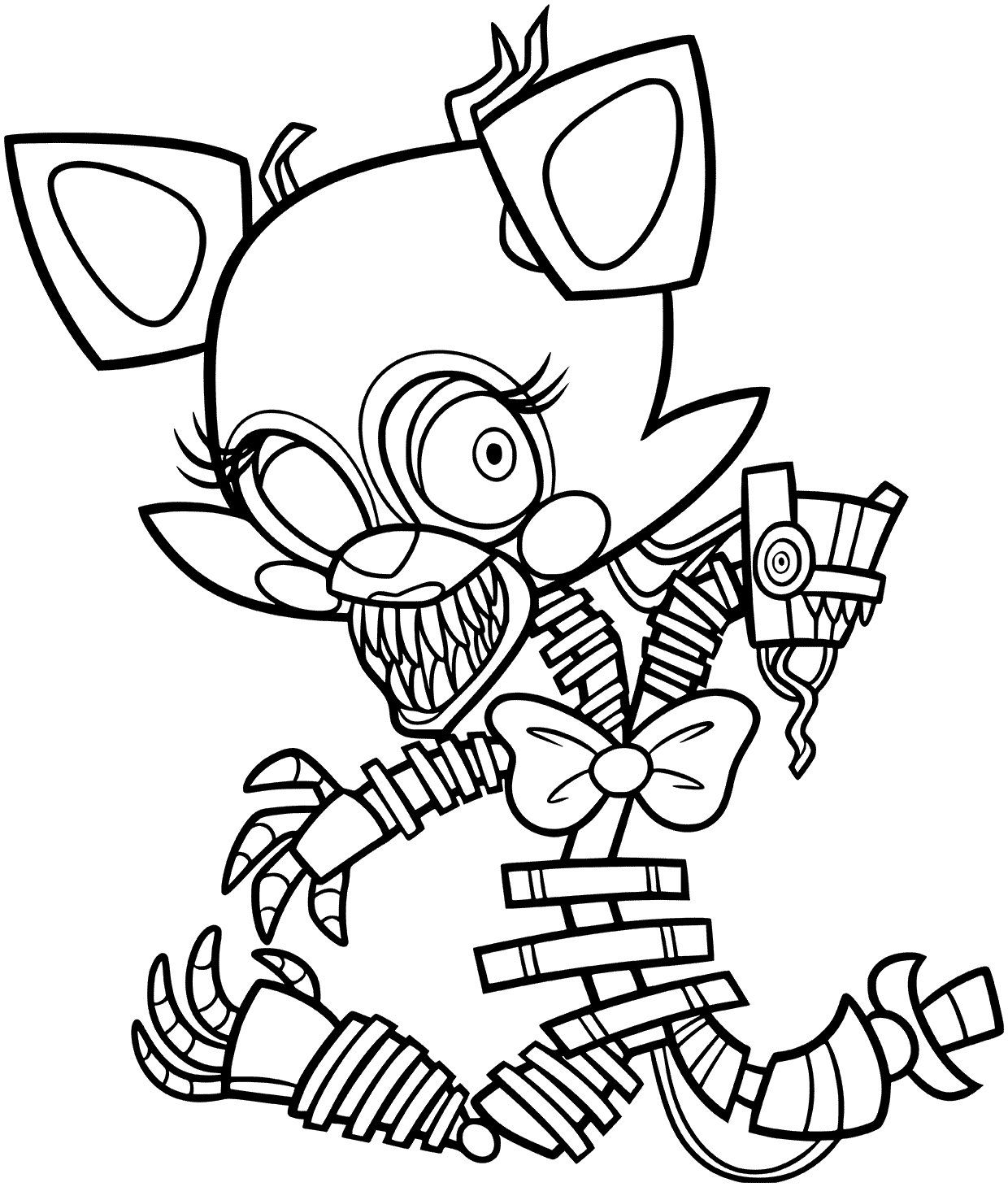 Golden Freddy Coloring Pages At Getcolorings