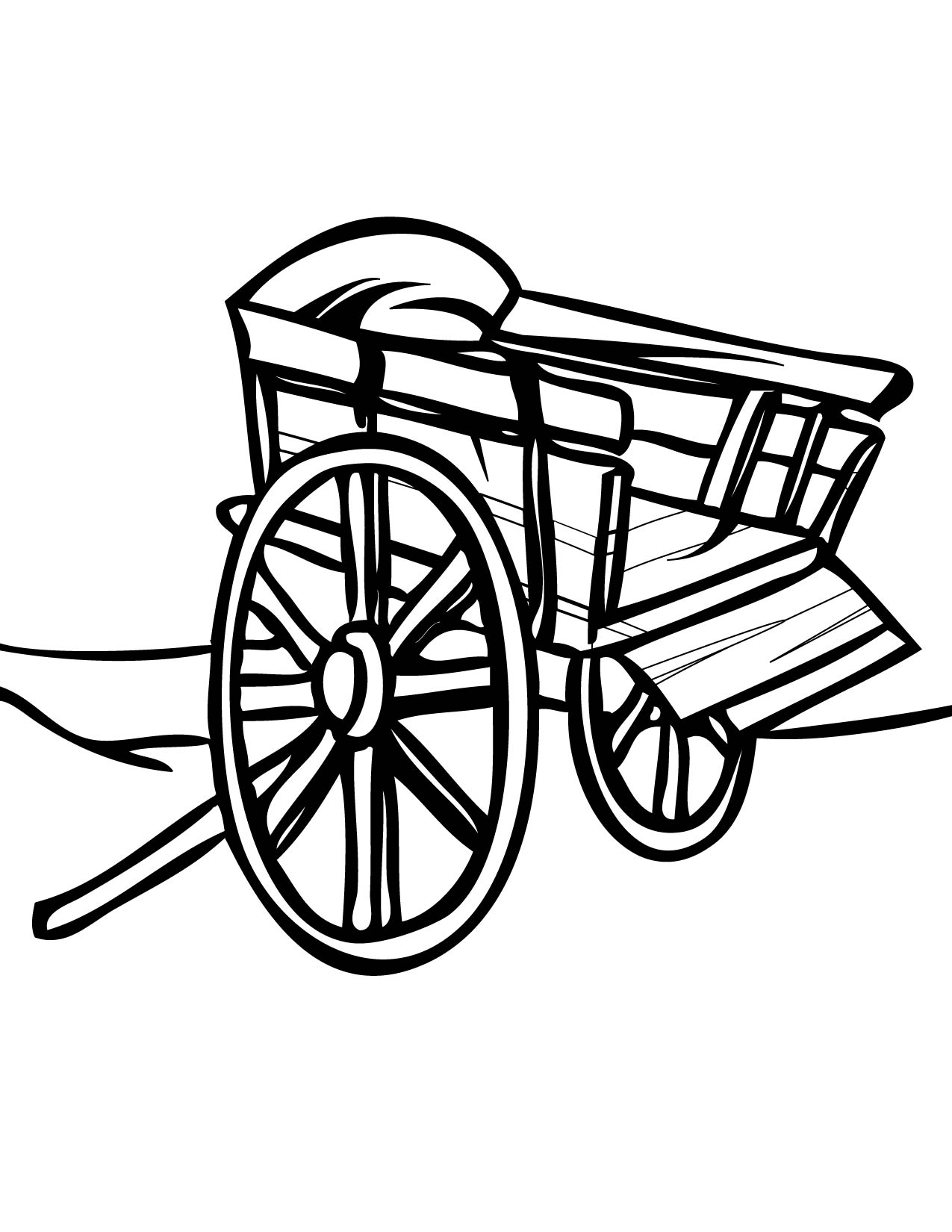 Golf Cart Coloring Page At Getcolorings