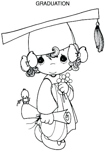 Graduation Coloring Pages Printables at GetColorings.com