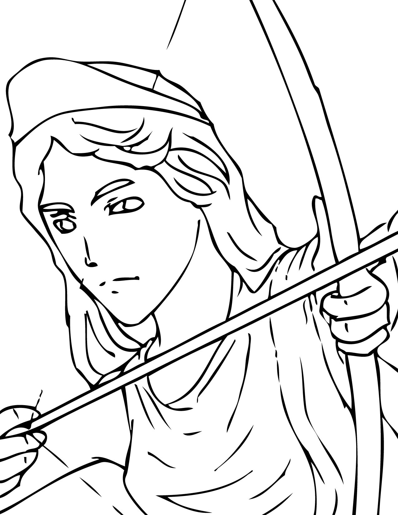 Greek Gods And Goddesses Coloring Pages At Getcolorings