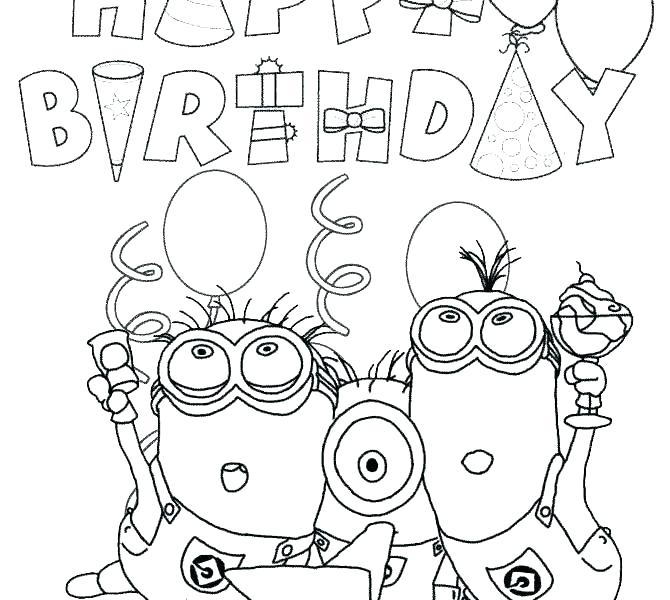 Happy 4th Birthday Coloring Pages at GetColorings.com