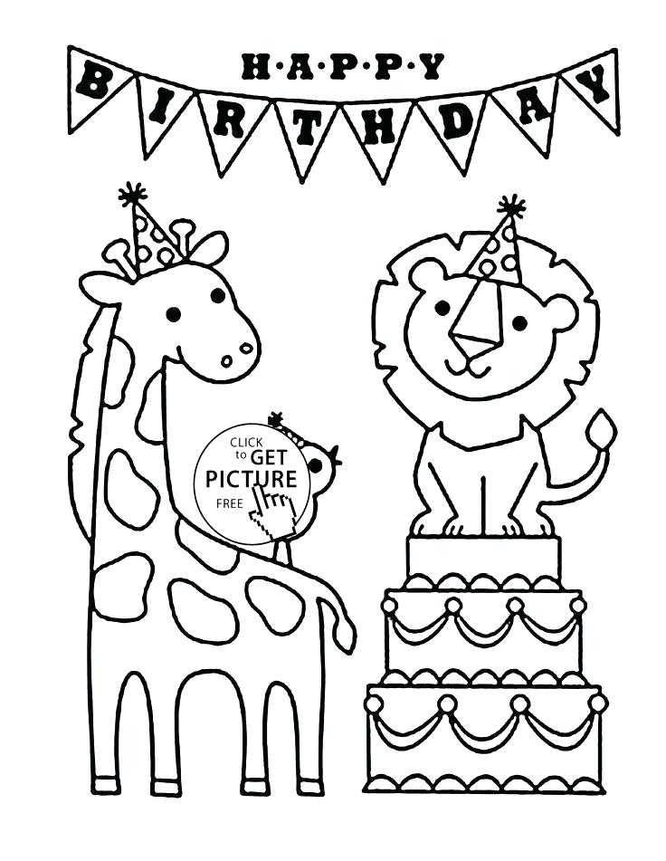 Happy Birthday Dad Coloring Pages at GetColorings.com