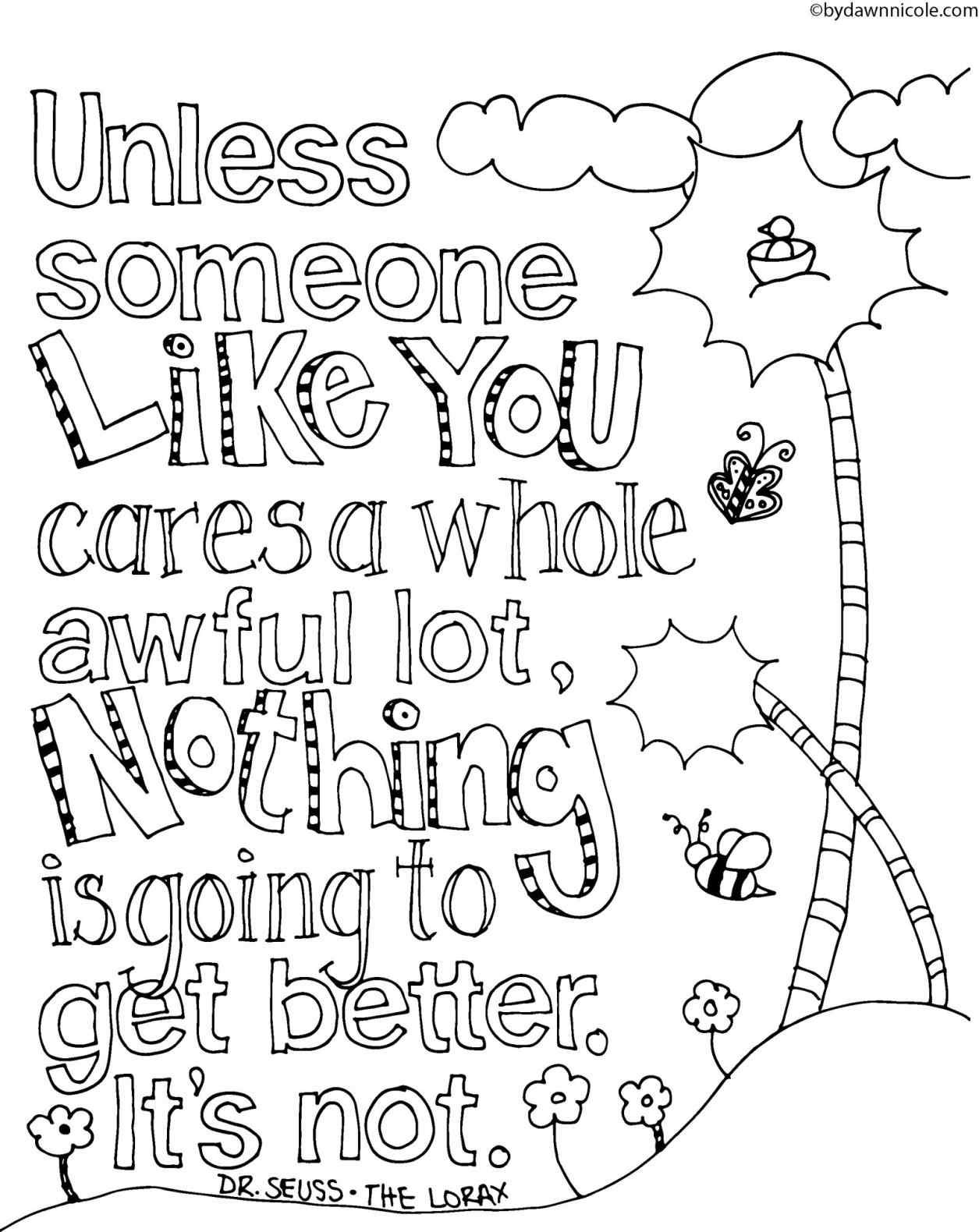 Happy Birthday Dr Seuss Coloring Pages At Getcolorings
