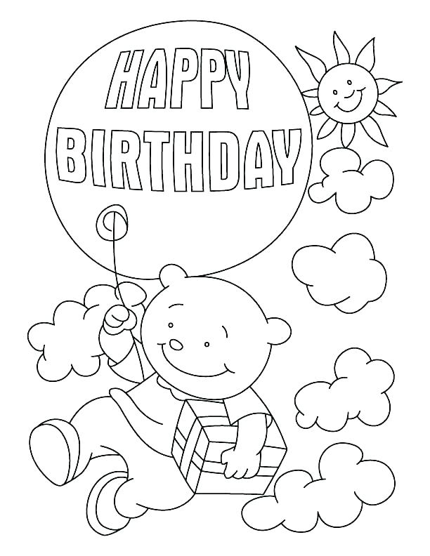 Happy Birthday Grandma Coloring Pages at GetColorings.com