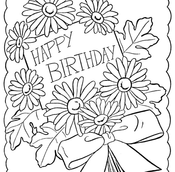 Happy Birthday Teacher Coloring Pages at GetColorings.com