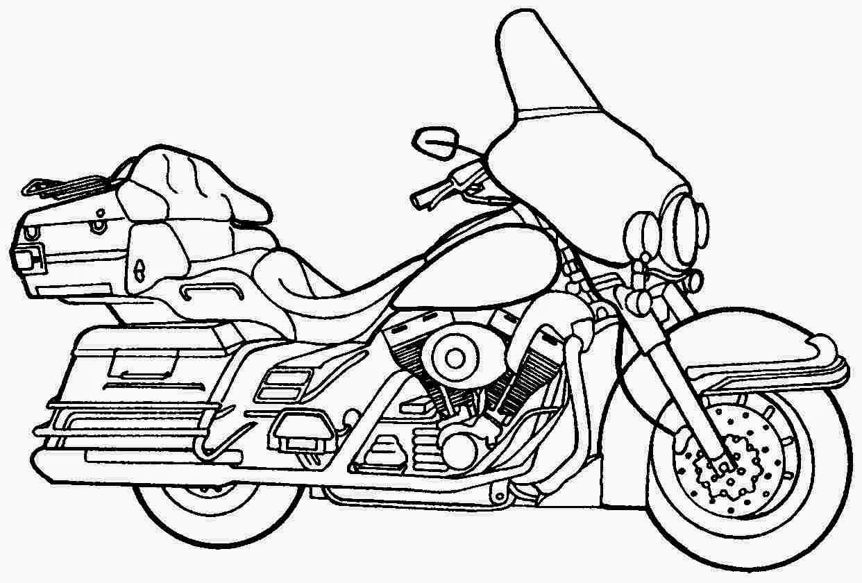 Harley Davidson Logo Coloring Pages at GetColorings.com