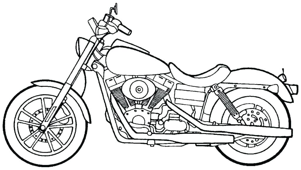 Harley Davidson Logo Coloring Pages at GetColorings.com