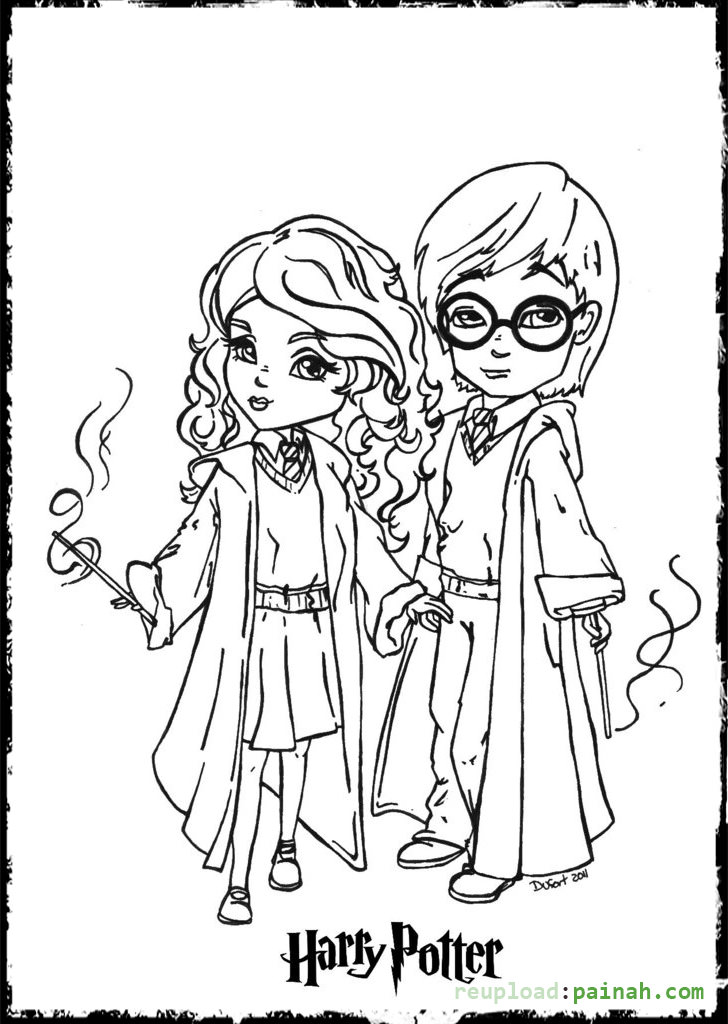 Harry Potter Coloring Pages For Kids at GetColorings.com