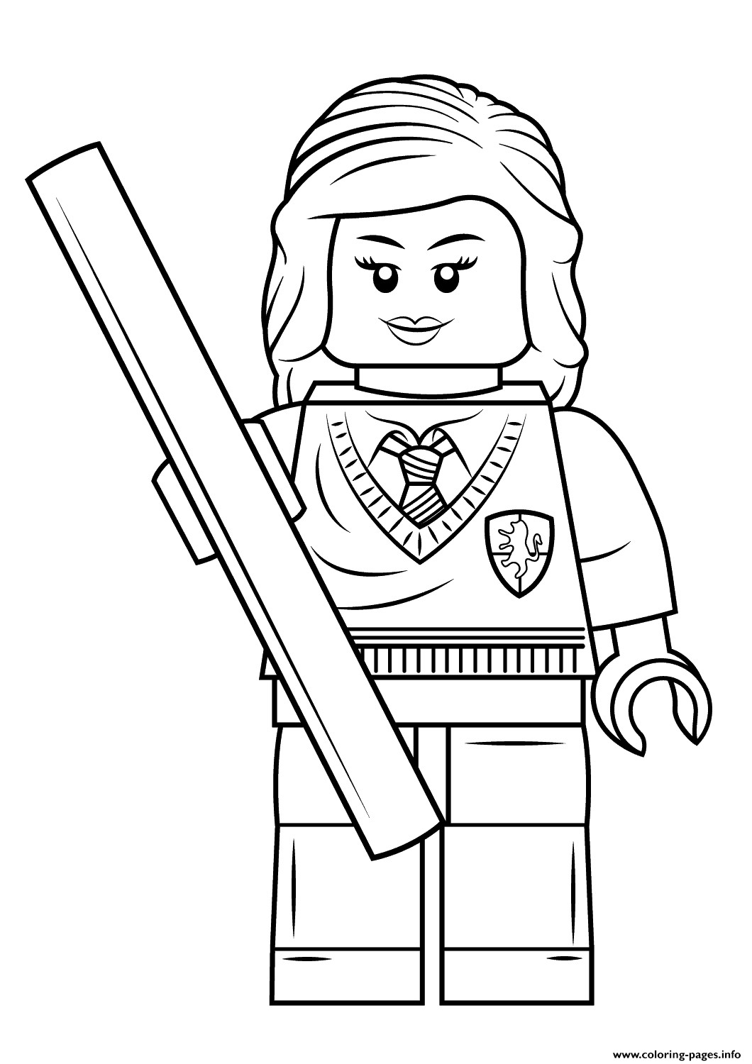 Harry Potter Coloring Pages For Kids At Getcolorings
