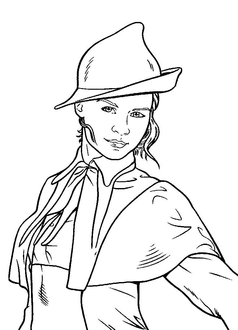 harry potter coloring pages hermione at getcolorings