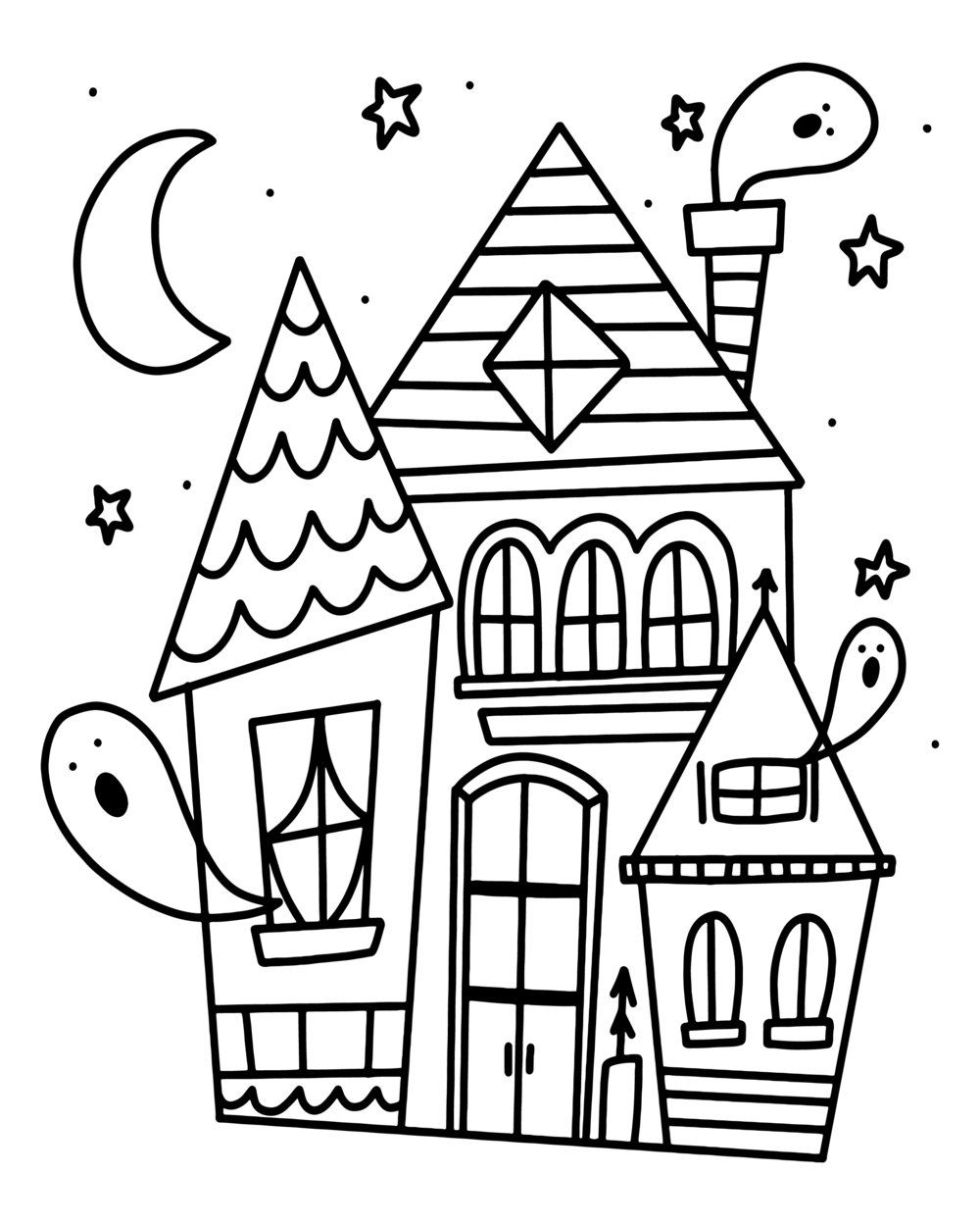 Harry Potter House Coloring Pages at GetColorings.com