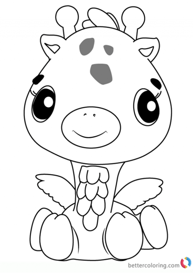 Hatchimal Coloring Pages At Free