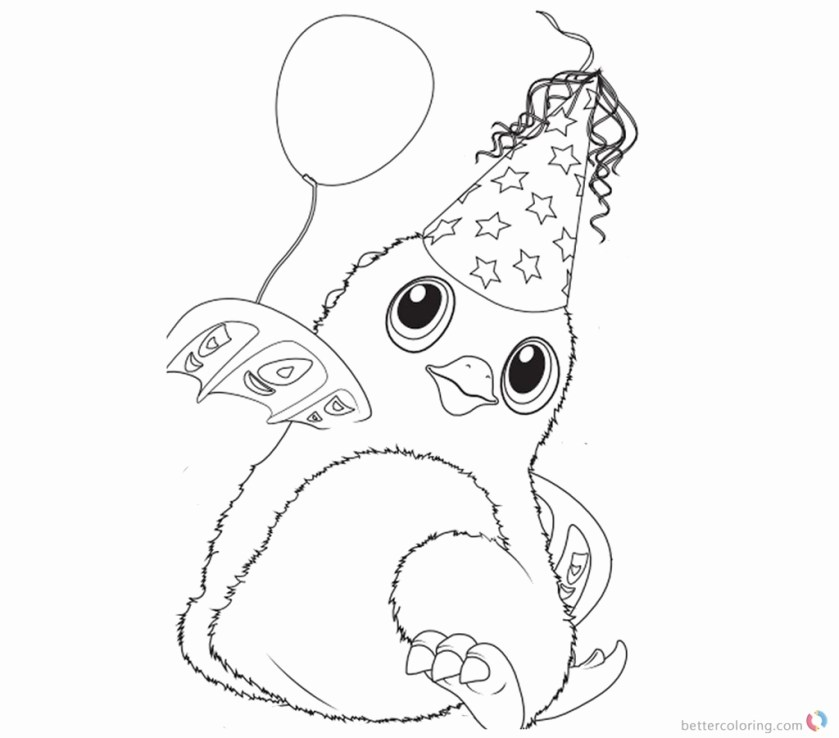 hatchimal coloring pages at getcolorings  free