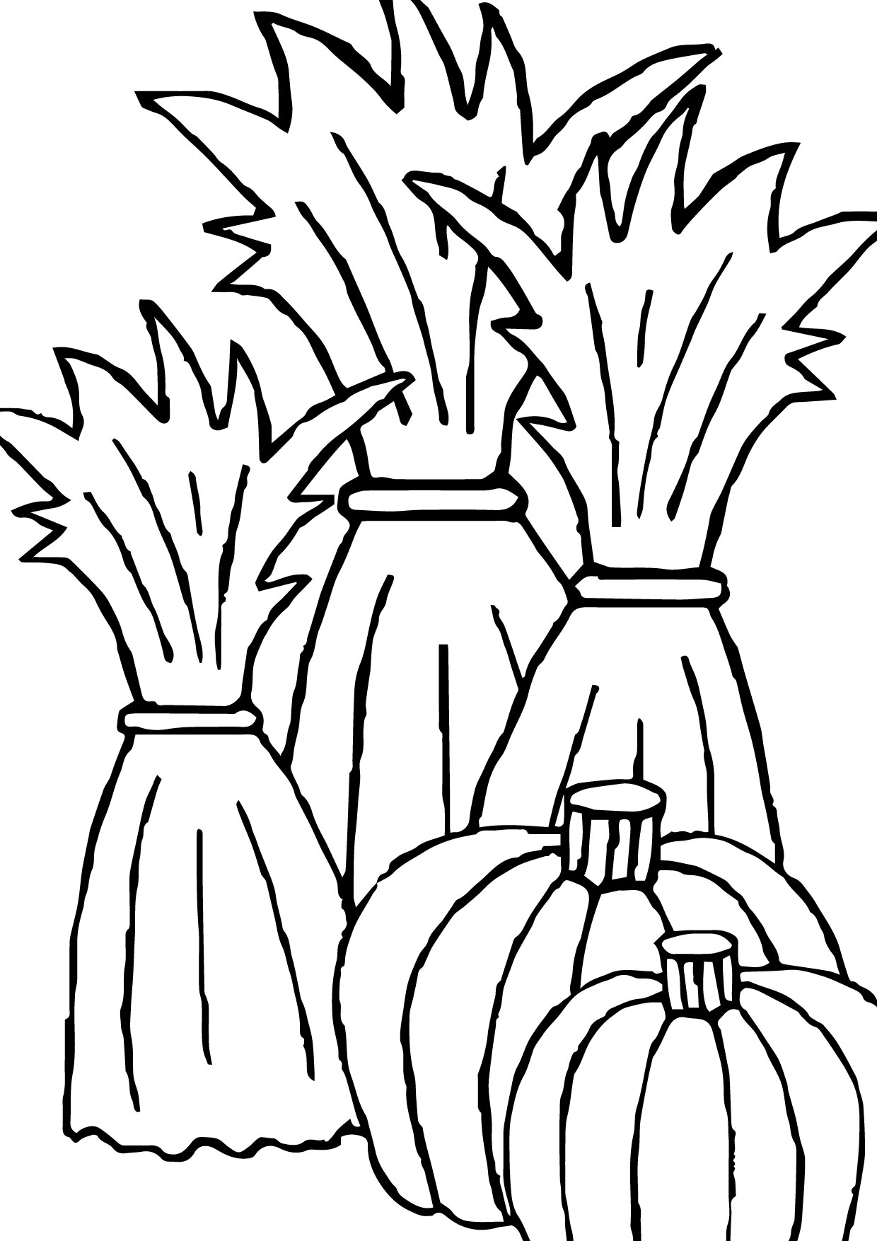 Hay Bale Coloring Page At Getcolorings