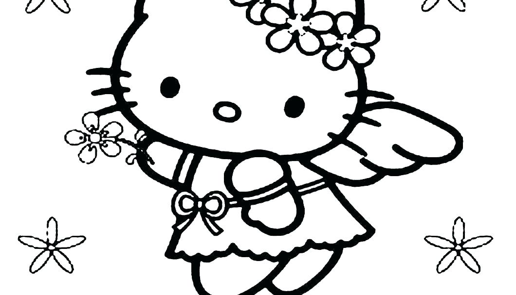 Hello Kitty Mermaid Coloring Pages at GetColorings.com