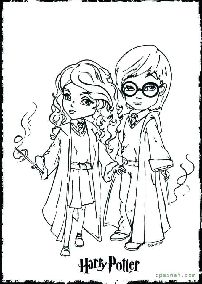 hermione coloring pages at getcolorings  free