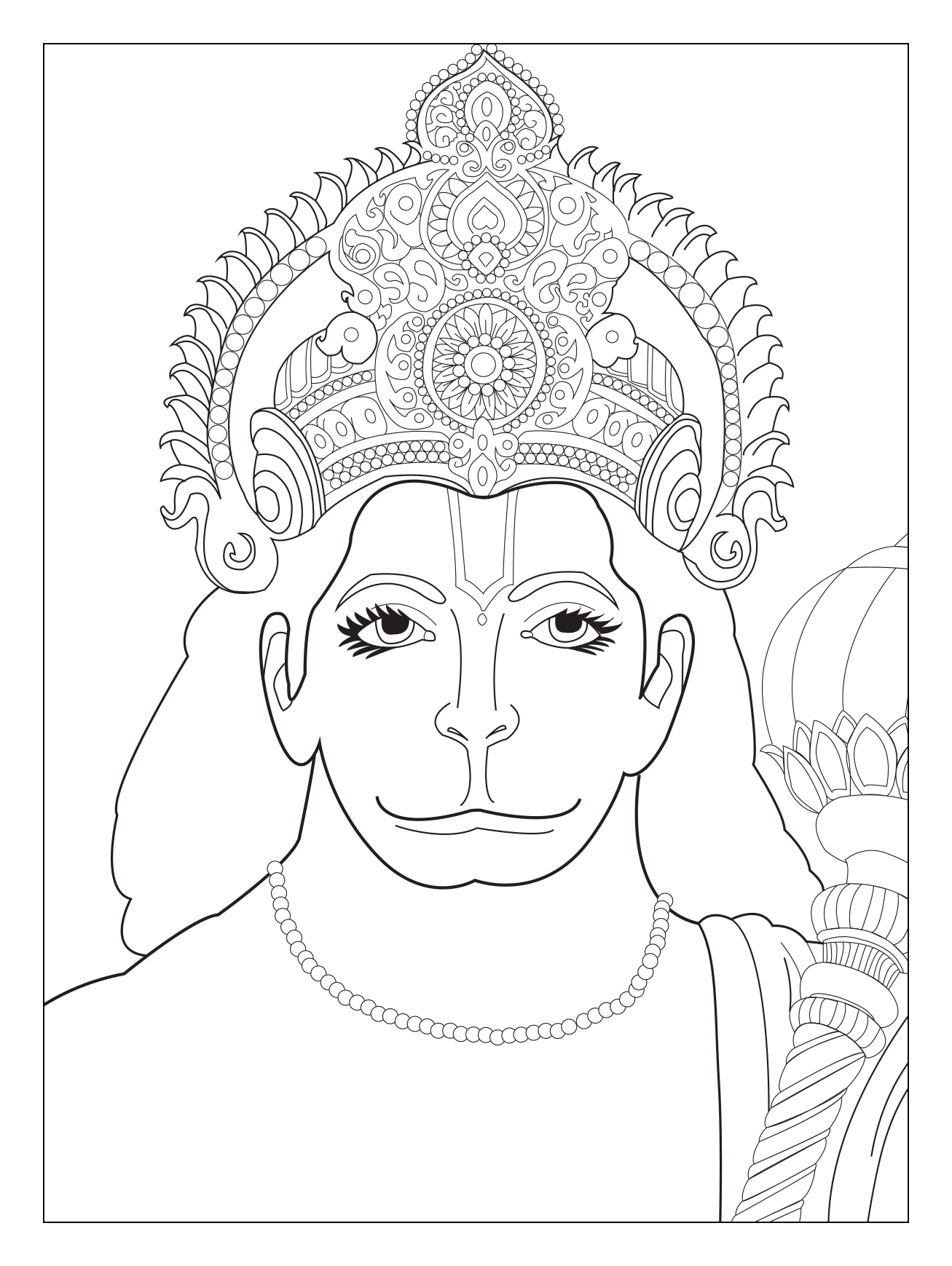 Hindu Elephant Coloring Pages At Getcolorings