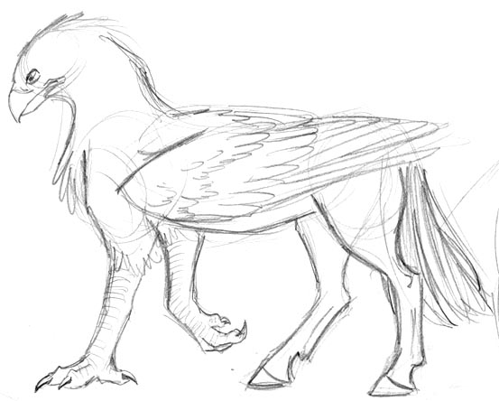 Hippogriff Coloring Pages