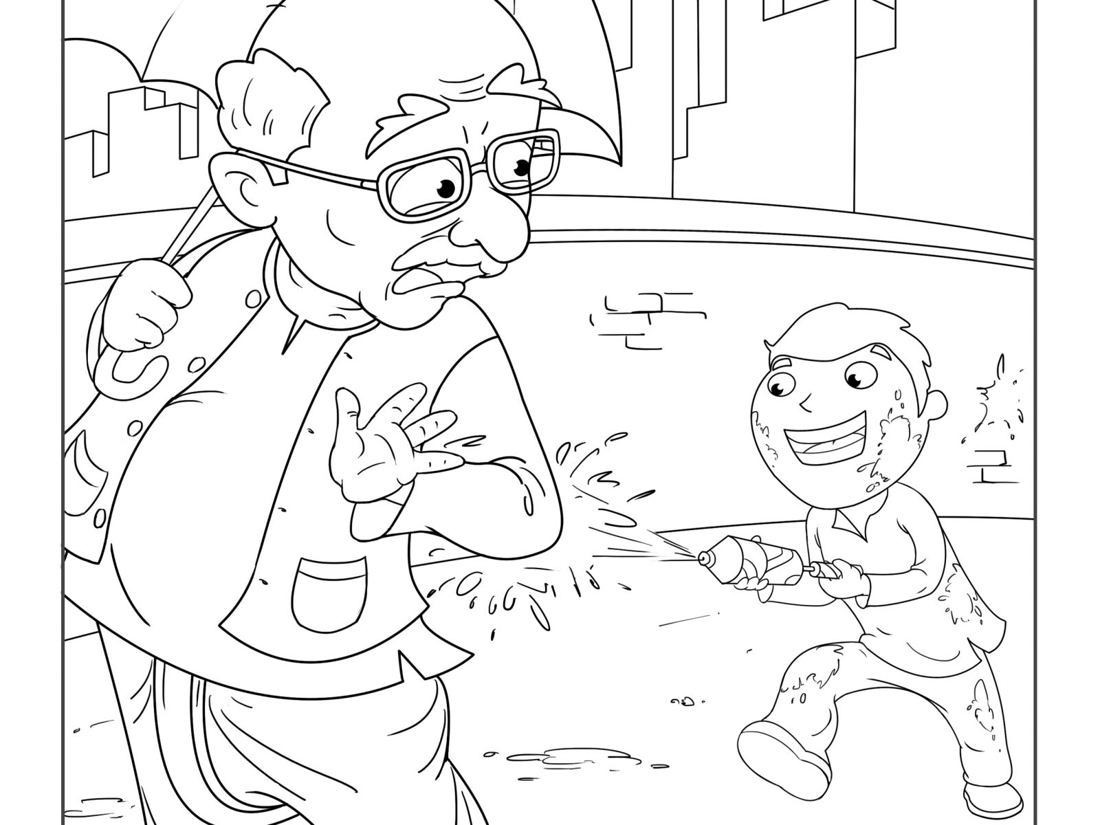 Holi Coloring Pages At Getcolorings