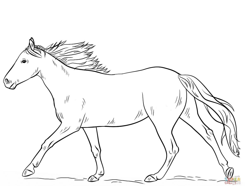 Swedish Horse Coloring Page Swedish Dala Or Daleclarian Horse
