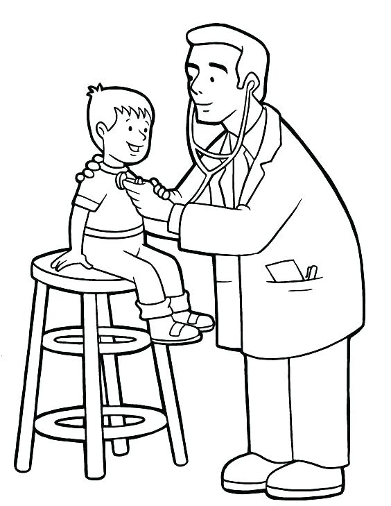 Hospital Coloring Pages Printables at GetColorings.com