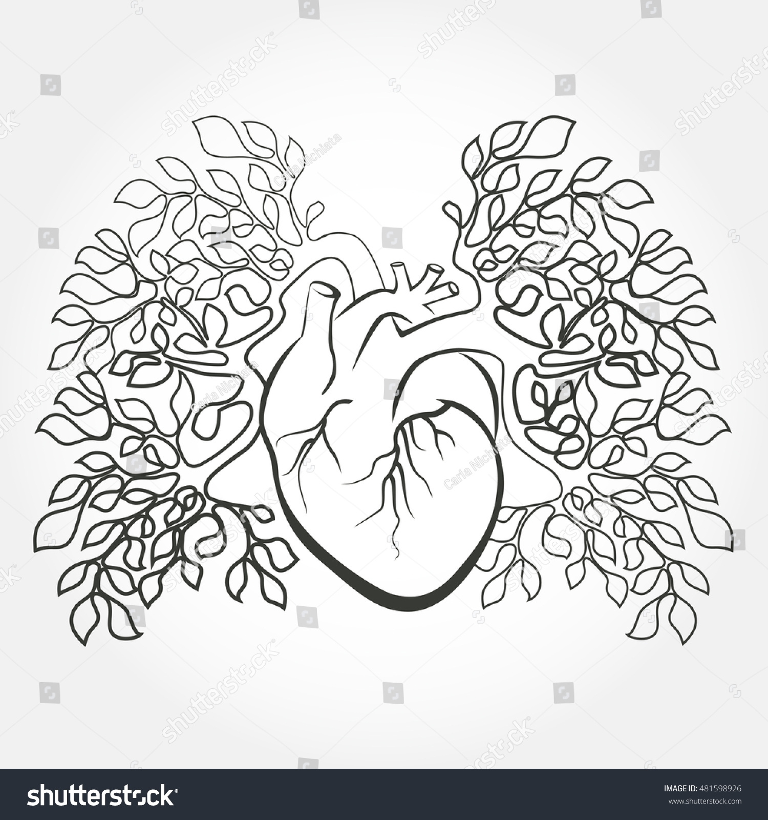 Human Heart Coloring Pages At Getcolorings