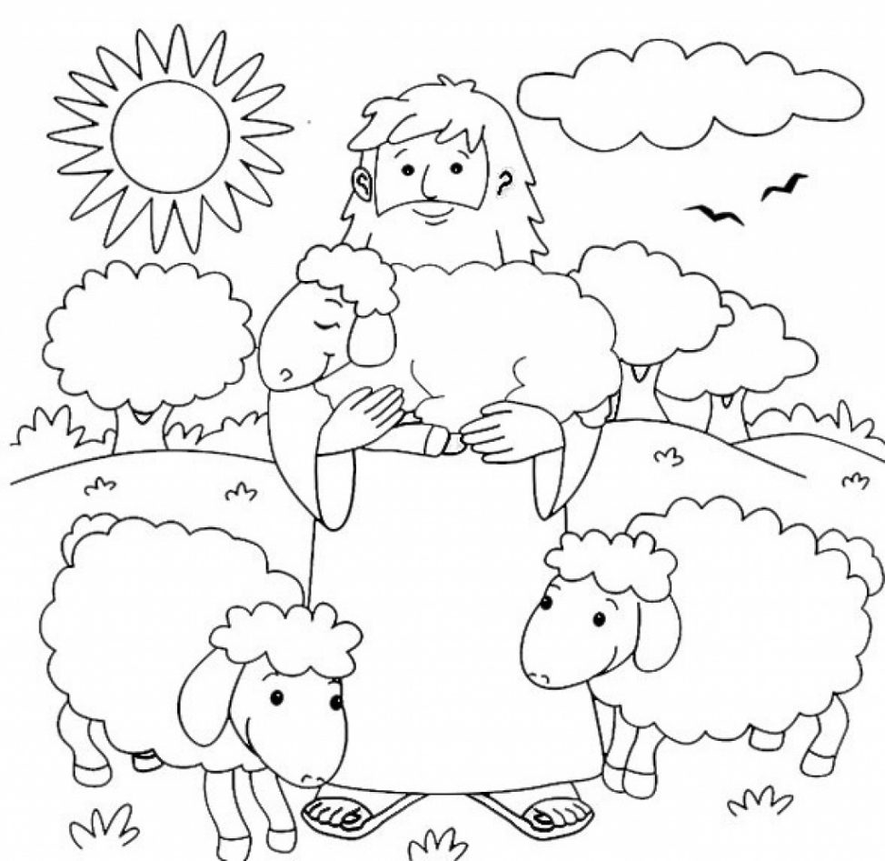I Am The Good Shepherd Coloring Pages at GetColorings.com