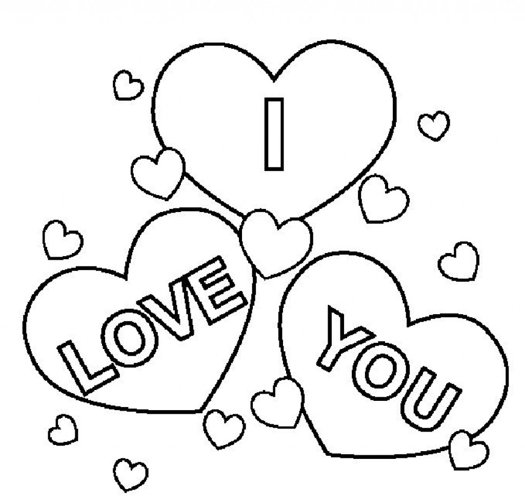 I Love You Coloring Pages For Adults at GetColorings.com