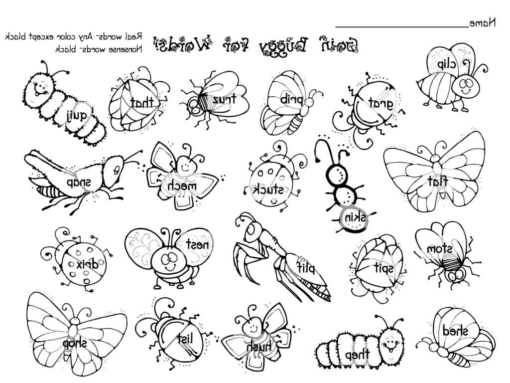 30 Insect Coloring Pages Coloringstar Sketch Coloring Page