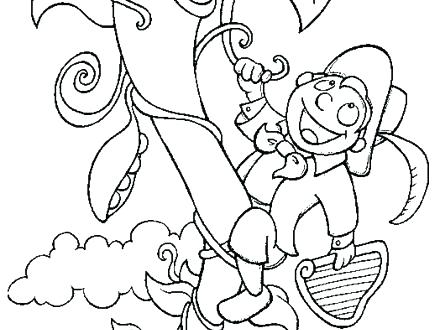 Jack And The Beanstalk Coloring Pages at GetColorings.com