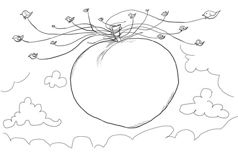 James And The Giant Peach Coloring Pages at GetColorings