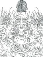 Japanese Geisha Coloring Pages at GetColorings.com   Free ...