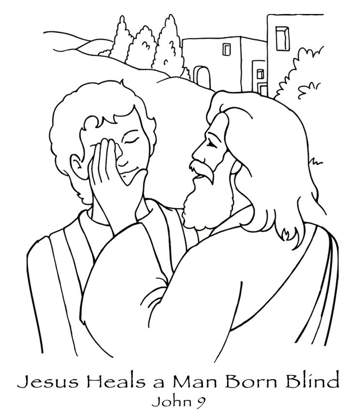 Jesus Coloring Pages For Kids Printable at GetColorings