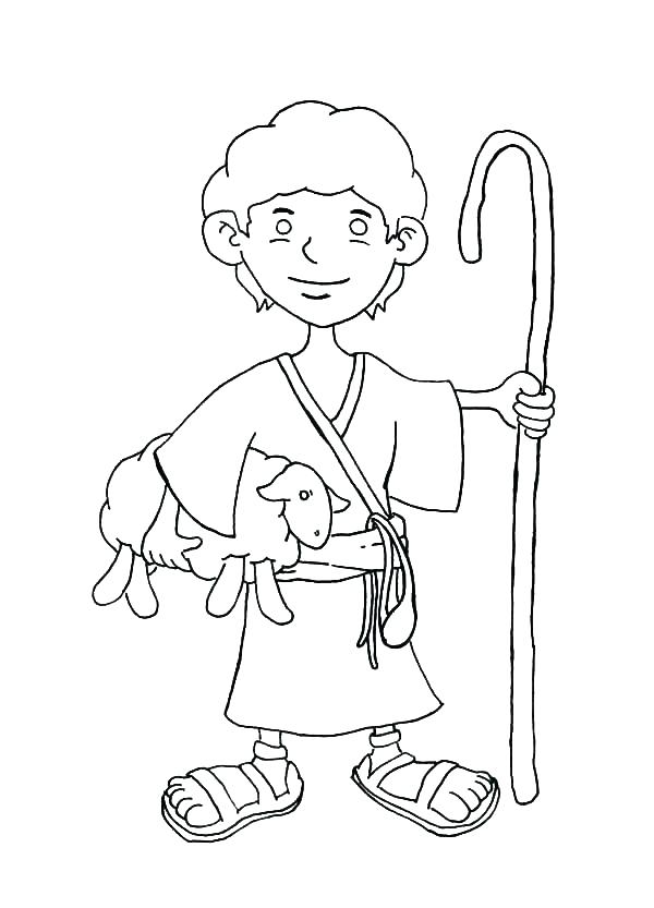 Jesus The Good Shepherd Coloring Pages at GetColorings.com