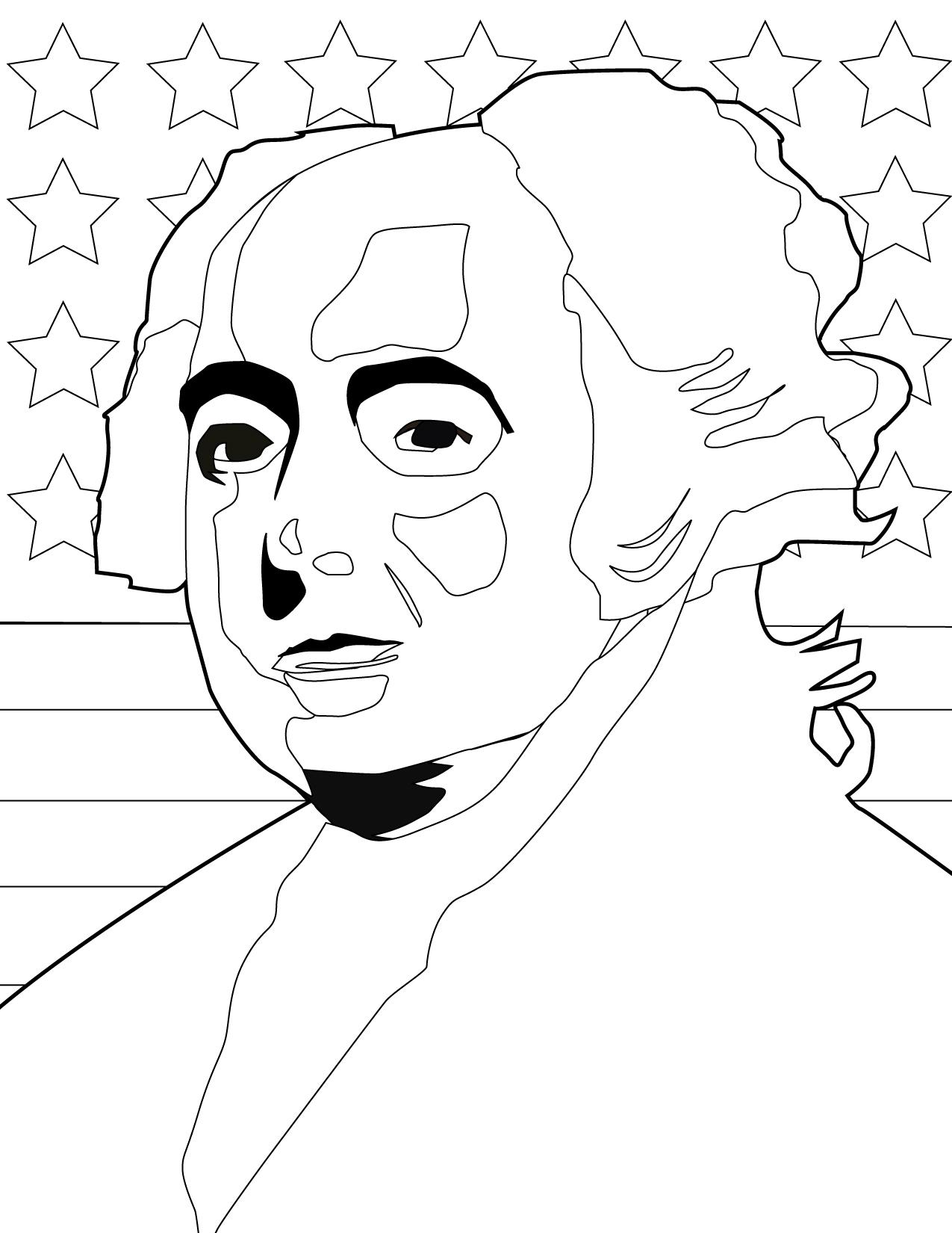John Adams Coloring Page At Getcolorings