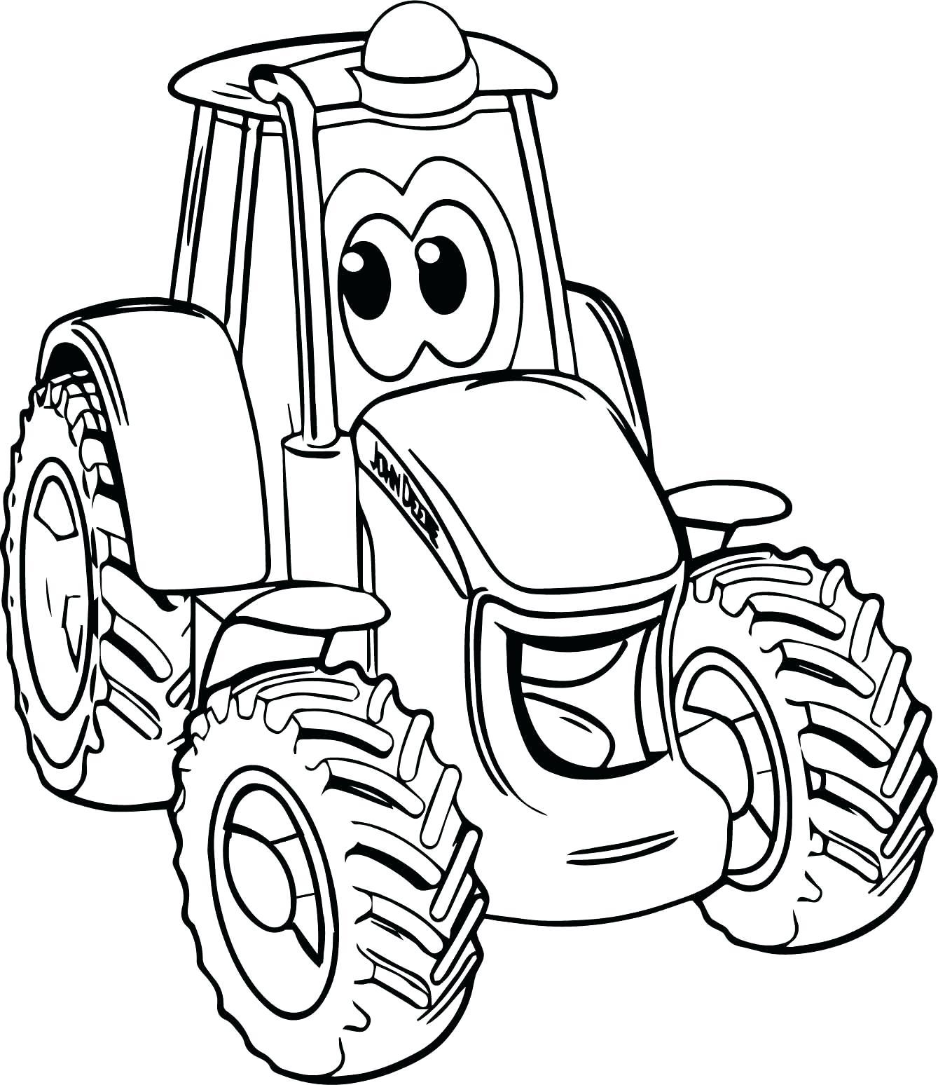 Combine Harvester Coloring Pages at GetColorings.com