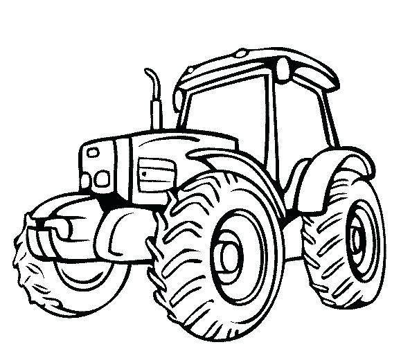 John Deere Combine Coloring Pages at GetColorings.com
