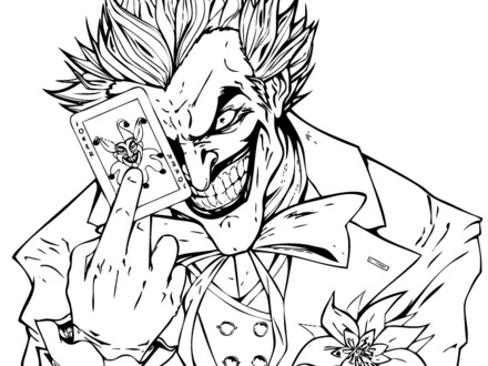 Joker And Harley Quinn Coloring Pages at GetColorings.com