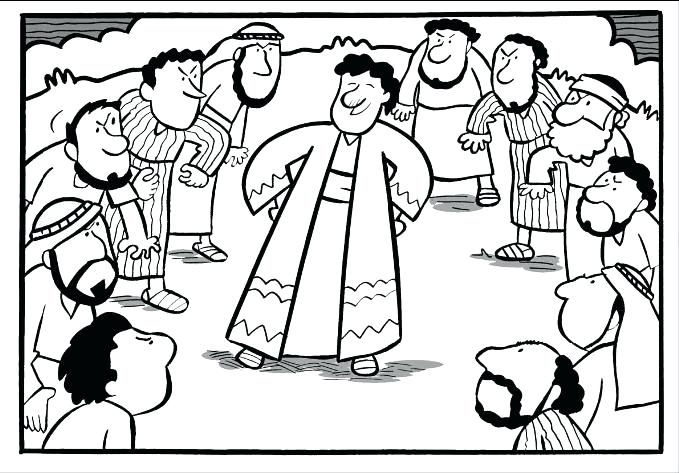 Joseph Sold Into Slavery Coloring Pages at GetColorings