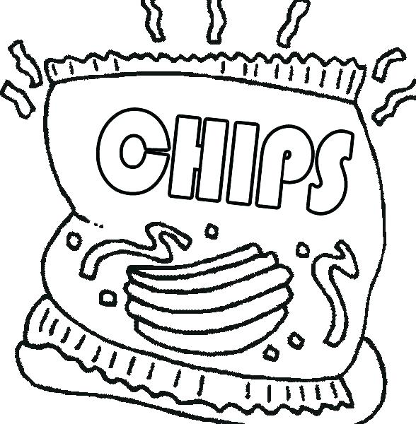 junk food coloring pages at getcolorings  free