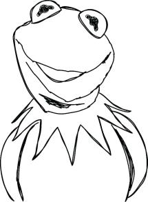 Kermit The Frog Coloring Page at GetColoringscom Free