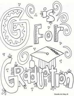 Kindergarten Graduation Coloring Pages at GetColorings.com