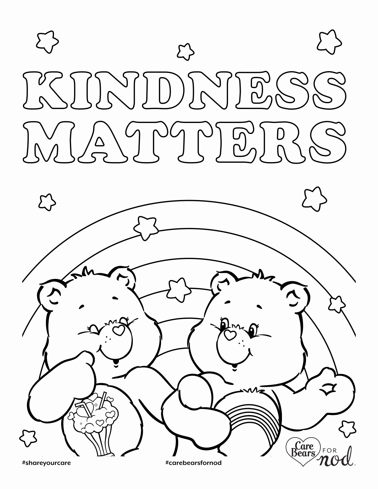 Kindness Coloring Pages Printable At Getcolorings