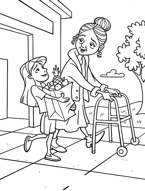 Kindness Coloring Pages Printable at GetColorings.com