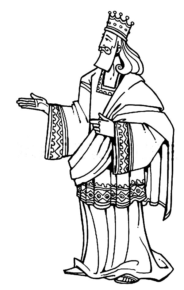 King Solomon Coloring Pages Printable at GetColorings.com