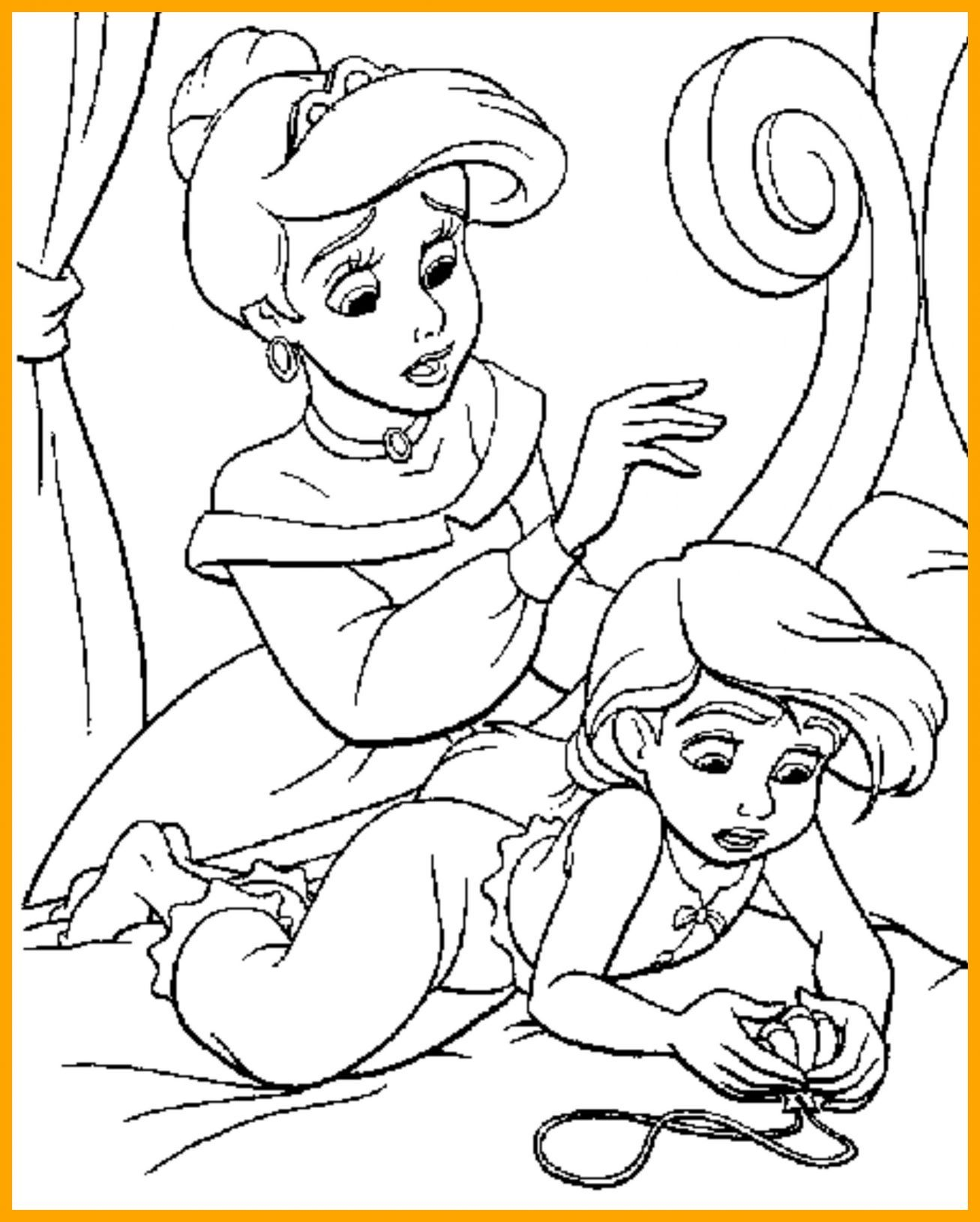King Triton Coloring Pages At Getcolorings