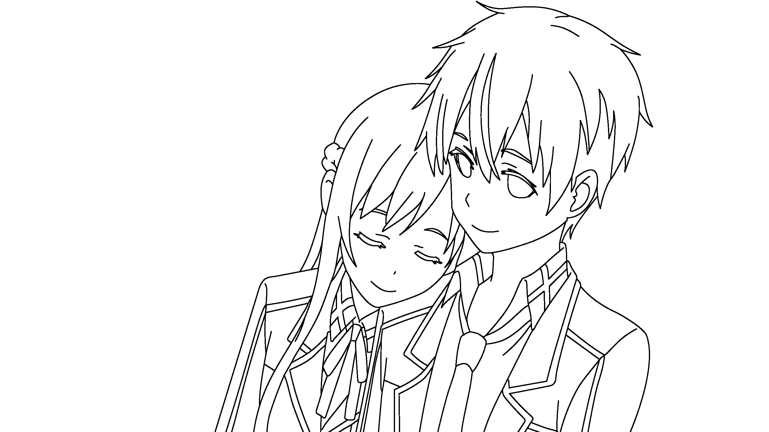 Kirito Coloring Pages At Getcolorings