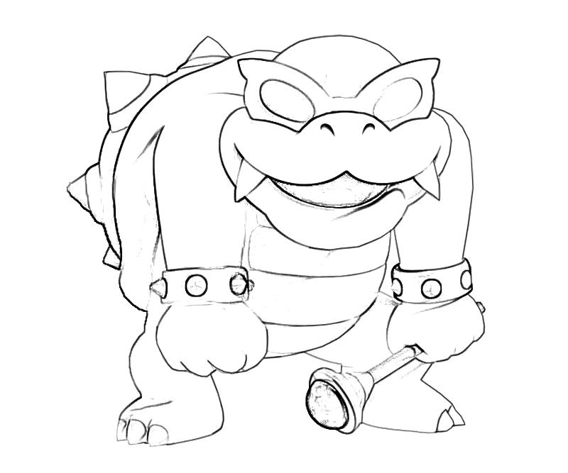 Lemmy Koopaling Printable Coloring Pages