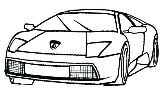 Lamborghini Coloring Pages To Print at GetColorings.com