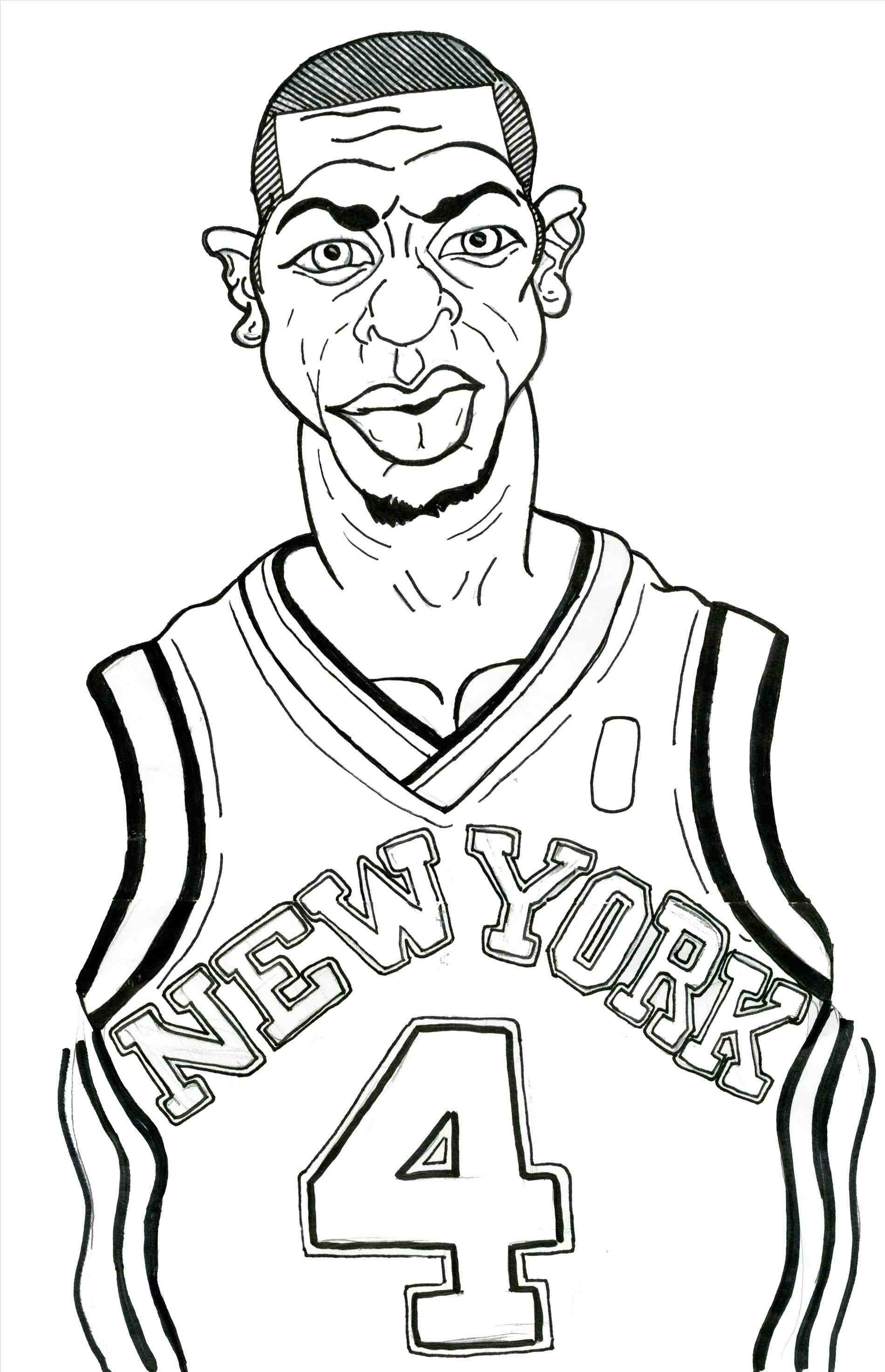 Lebron James Coloring Pages At Getcolorings